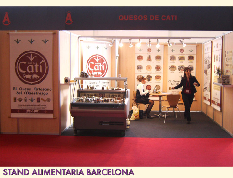 CATI STAND. Stand para Alimentaria Barcelona. Catí. CASTELLÓN